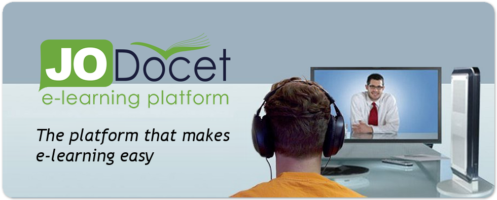 JODocet e-learning platform