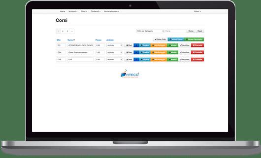 VITECO e-learning Solutions Gestione Corsi e-learning