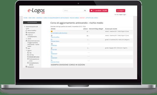 e-Logos 3.0 monitoraggio e reportistica