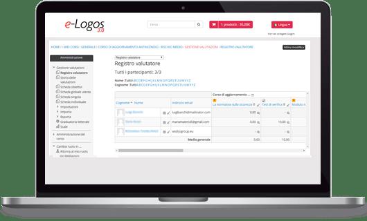 e-Logos 3.0 valutazioni