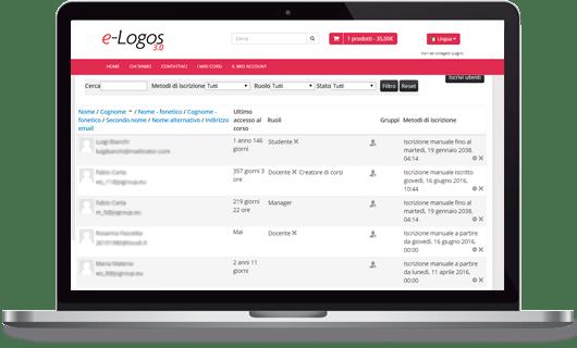 e-Logos 3.0 gestione iscritti